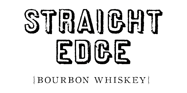 Straight Edge Bourbon Whiskey - Logo