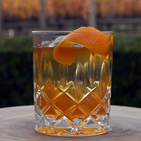 Spiced Old Fashioned Glass